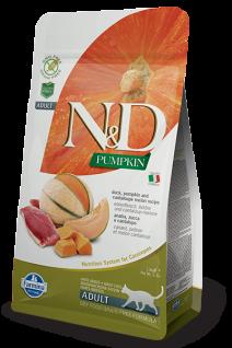 Farmina N&D Adult Ente, Kürbis & Melone für erwachsene Katzen