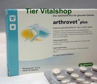 Arthrovet plus für gesunde Gelenke. Ergänzungsfuttermittel