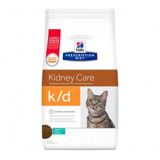 Hill´s Prescription Diet Feline k/d mit Thunfisch Ernährungshilfe für Katzen bei chron.u.akuter Niereninsuffizienz