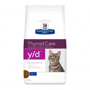Hills Feline Prescription Diet y/d für Katzen bei Schilddrüsenüberfunktion