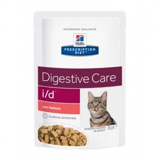 Hill´s Prescription Feline i/d Frischebeutel mit Lachs