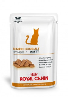 Royal Canin Vet Care Senior Consult Stage 1 Feuchtnahrung für Katzen