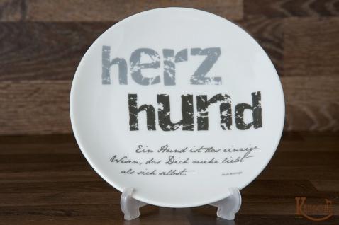 """Kensons Teller """" Herzhund"""""""