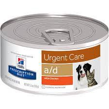 Hill´s Prescription Diet Feline und Canine a/d zur Unterstützung nach OP´s bei Rekonvaleszenz für Hunde u.Katzen
