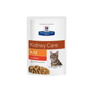Hill´s Prescription Diet Feline k/d Frischebeutel mit Huhn