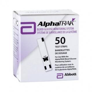 AlphaTrak Teststreifen 50 Stück