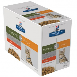 Hill´s Prescription Feline Metabolic + Urinary Frischebeutel