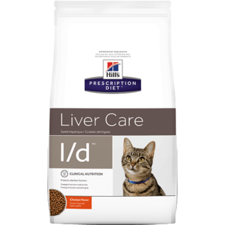 Hill´s Prescription Diet Feline L/d Ernährungshilfe für Katzen bei Lebererkrankungen