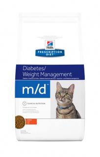 Hill´s Prescription Diet Feline m/d für Katzen bei Diabetes mellitus u. Fettsucht