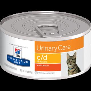 Hill´s Prescription Diet Feline c/d multicare feingehackt bei Blasenproblemen