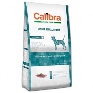 Calibra Dog Grain Free Senior Small Breed, Duck & Potato