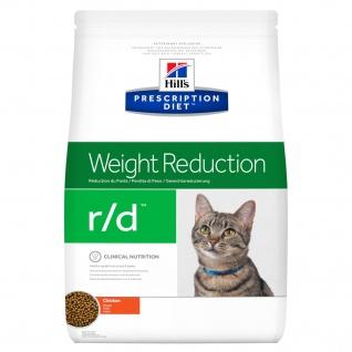 Hill´s Prescription Diet Feline r/d für Katzen bei Fettleibigkeit bzw. Übergewicht