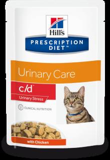Hill´s Prescription Feline c/d Urinary Stress Huhn Frischebeutel