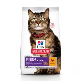 Hill's Science Plan Feline Sensitive Stomach & Skin Trockenfutter