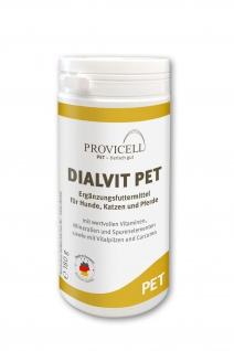 Dialvit PET mit Heilpilzen. Gesund und aktiv in jedem Alter - 180 g