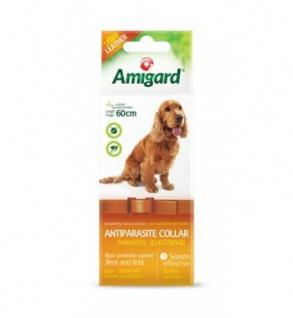 Amigard Antiparasitenband Hund aus Leder