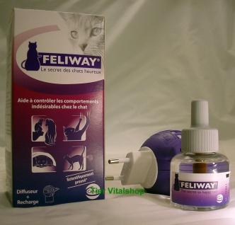 Feliway Zerstäuber mit Flacon gegen Harnmarkieren und Kratzen