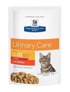 Hill´s Prescription Diet Feline c/d Urinary Stress Reduced Calorie Frischebeutel