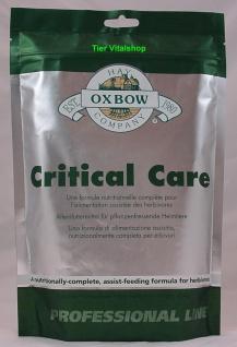 Oxbow Critical Care, leckeres Spezialfutter für pflanzenfressende Heimtiere