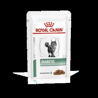 Royal Canin Vet Diet Diabetic Frischebeutel Katze