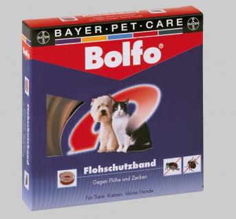 Bolfo Zecken- und Flohschutzhalsband für Katzen und kleine Hunde