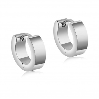MIOMI Ohrringe aus hochwertigem Edelstahl in Silber