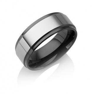 "Tungstino Ring "" Shiny Black"" Wolframcarbid"