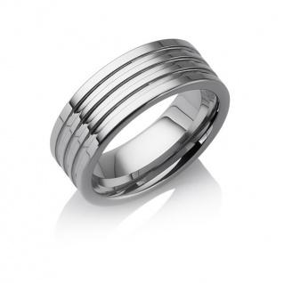 "Tungstino Ring "" 3-Line"" Wolframcarbid"