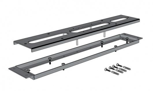 Drachstein Montagerahmen mit Armaturenträgerplatte