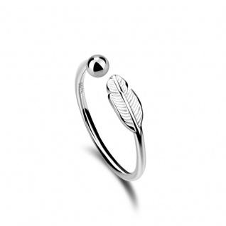 Leaf Ring aus 925 Sterling Silber