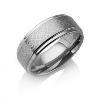 "Tungstino Ring "" Gothic"" Wolframcarbid"