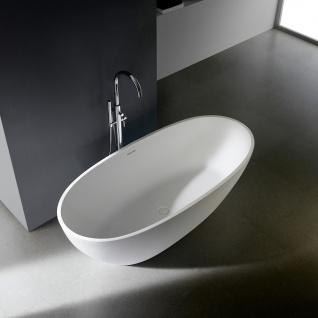 """Freistehende Badewanne """" Soho 2.0"""" 160, 168 oder 180 cm - Mineralguss"""