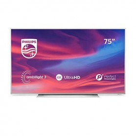 "Smart TV Philips 75PUS7354 75"" 4K Ultra HD LED WiFi Ambilight Silberfarben"