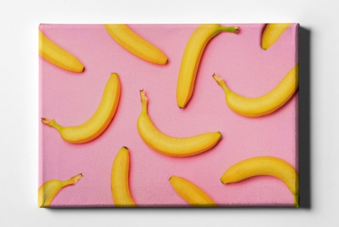 Bananen Muster Leinwand L0072