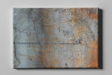 Metall Effekt Wand Rost Industrial Art Leinwand L0228