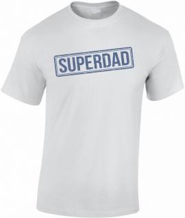 Super Dad Papa Vatertag T-Shirt T0152