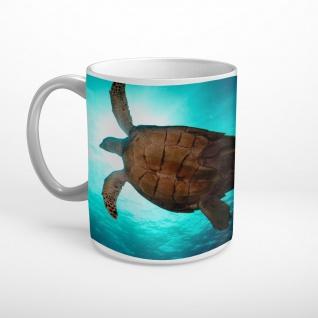 Schildkröte Meer Tier Tasse T1645