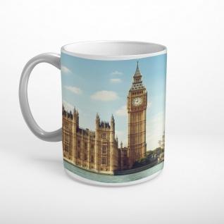 London Big Ben Parlament Westminster Bridge Tasse T1772