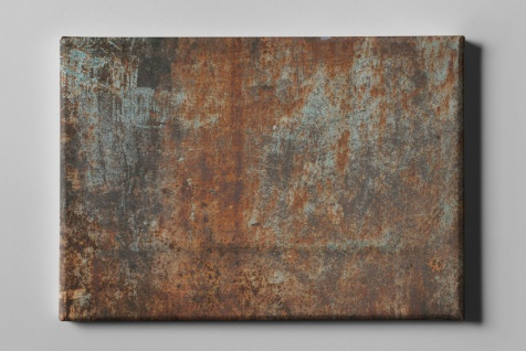 Metall Effekt Rost Industrial Art Leinwand L0216