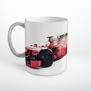 Formel 1 Rennwagen Tasse T0531