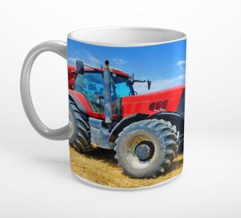 Traktor Feld Korn Ernte Landwirtschaft Tasse T0834