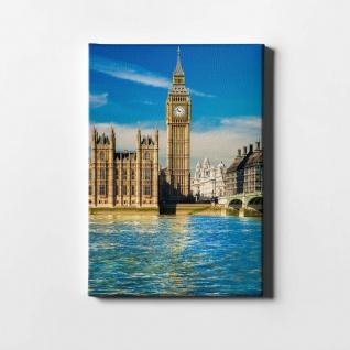 London Big Ben Themse City Leinwand L0420