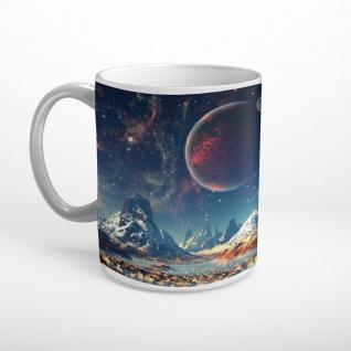 Planet Weltall Universum Tasse T1721