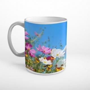 Blumen Blüten Sonnenschein Tasse T0994