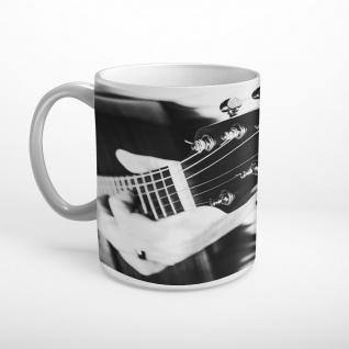Musiker Gitarrist Akustikgitarre Musik Tasse T1107