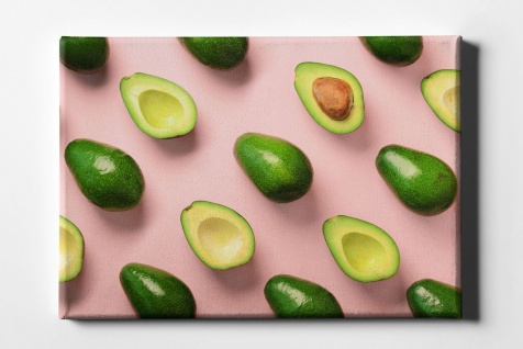 Avocado Muster Leinwand L0074