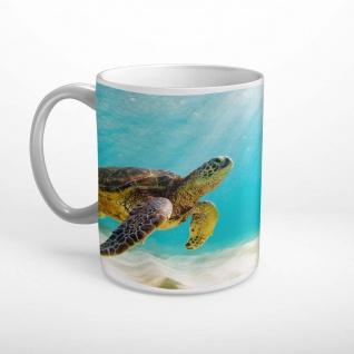 Schildkröte Meer Tier Wasser Tasse T2099