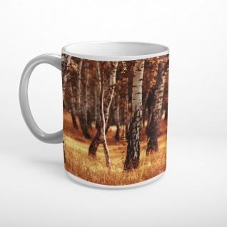 Wald Bäume Natur Tasse T2200