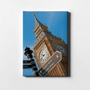 London Big Ben City Leinwand L0415