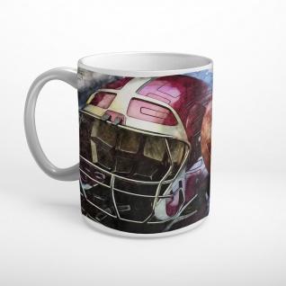 American Football Ball Helm Tasse T0987